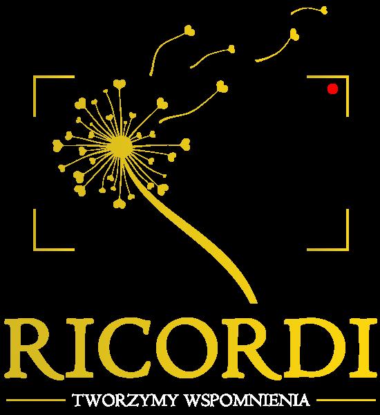Logo RICORDI biały napis